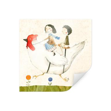 Poster Loske - Huhnreise