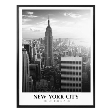 Poster New York City - The United States