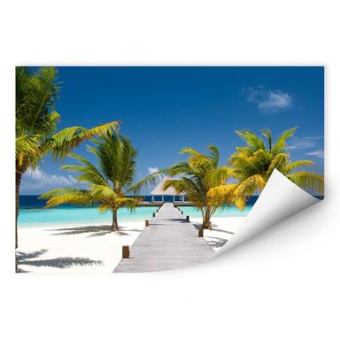 Wallprint Der Weg ins Paradies