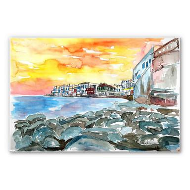 Wandbild Bleichner - Magnificent Mykonos