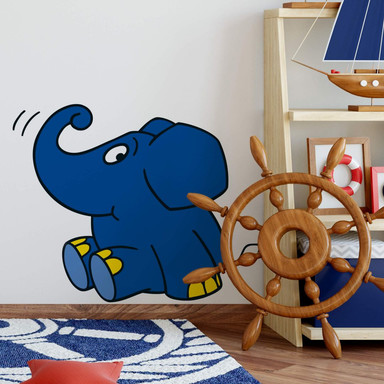 Wandsticker Elefant 07