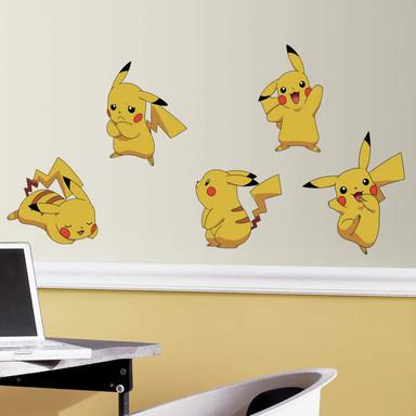 Wandsticker-Set Pokemon Pikachu - Bild 1