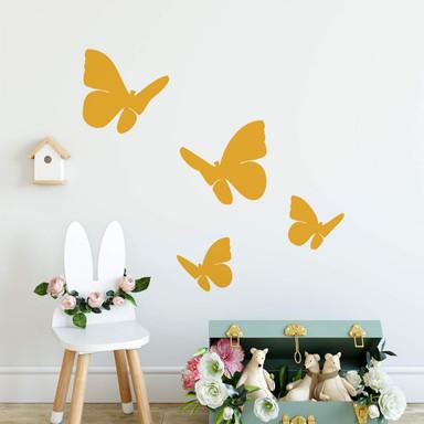 Wandtattoo Schmetterlings-Set 2 (4-teilig)