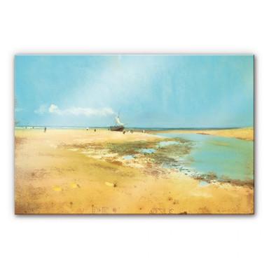 Acrylglasbild Degas - Strand bei Ebbe