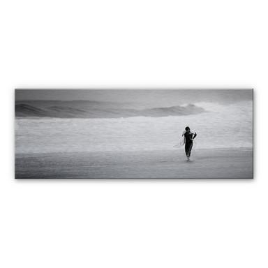 Alu-Dibond Bild Surfing