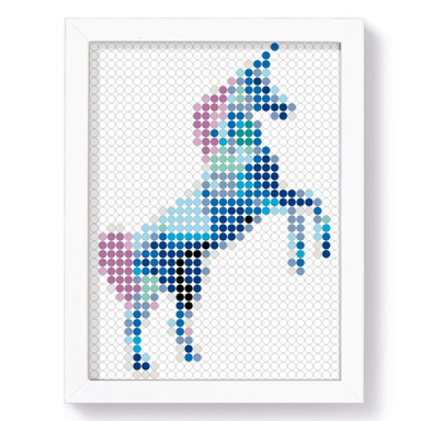 Dot-On Klebeposter L - Unicorn 30x40cm - Bild 1
