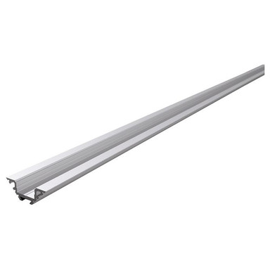 Eck-Profil AV-04-12 für 12 - 13.3 mm LED Stripes, Silber-matt, eloxiert, 2000 mm