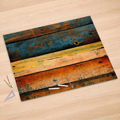Folienbogen (150x100cm) - Wooden