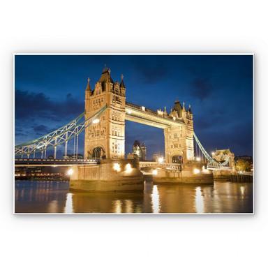 Hartschaumbild Tower Bridge in London