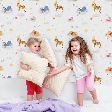 Mustertapete Papiertapete Pooh Rise & Shine - Bild 1
