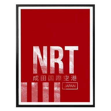 Poster 08Left - NRT Flughafen Tokyo