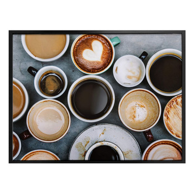 Poster Kaffee Variationen