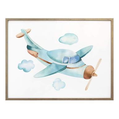 Poster Kvilis - Das Flugzeug