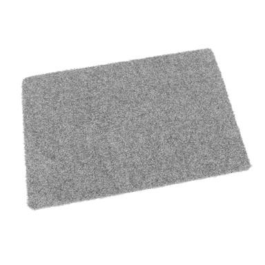 Protex waschbare Fussmatte grau