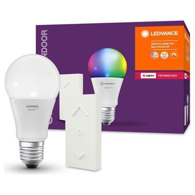 SMART& Zigbee LED Leuchtmittel E27 10W 810lm RGBW mit Fernbedienung