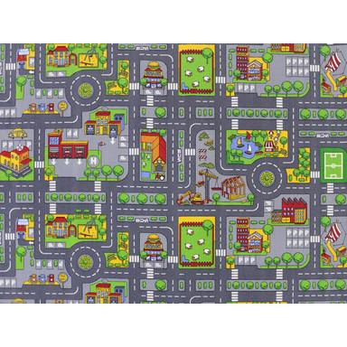 Stadt Mix HEVO ® Strassen Spielteppich   Rechteckig   145x200cm - Bild 1