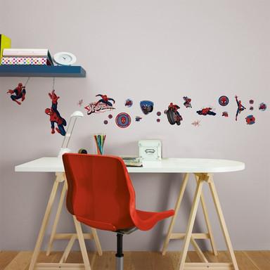 Wandsticker-Set Spider-Man