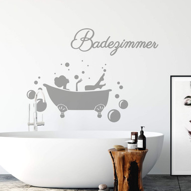 Wandtattoo Badezimmer 01