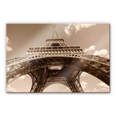 Acrylglasbild Eiffelturm Perspektive