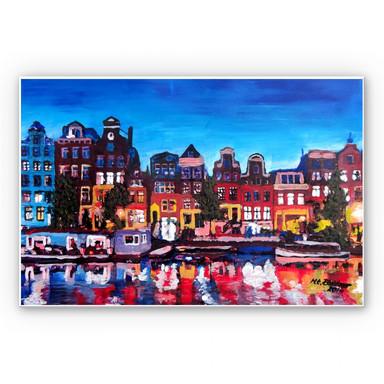 Hartschaumbild Bleichner - Amsterdam