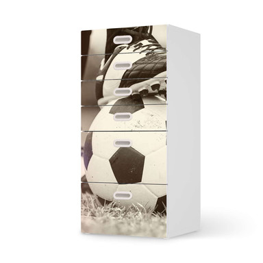 Klebefolie IKEA Stuva / Fritids Kommode - 6 Schubladen - Kick it- Bild 1