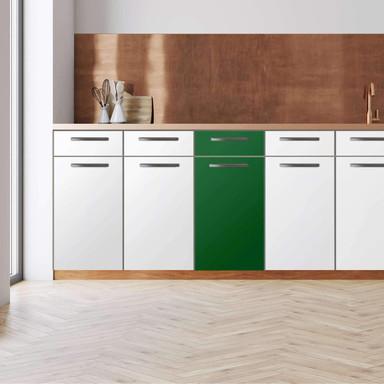 Küchenfolie - Unterschrank 40cm Breite - Grün Dark