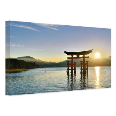 Leinwandbild Itsukushima Schrein
