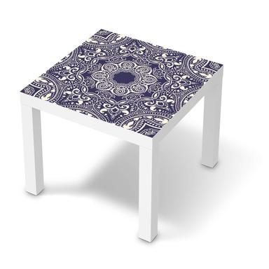 Möbelfolie IKEA Lack Tisch 55x55cm - Blue Mandala