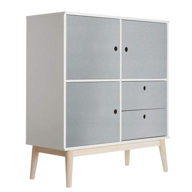 Möbelfolie - Uni Silber