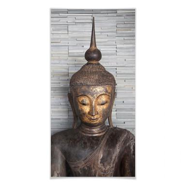 Poster Thailand Buddha - Panorama 02
