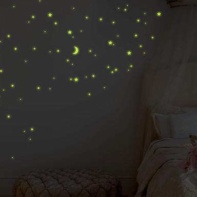 Leuchtsticker Sternenhimmel - Bild 1
