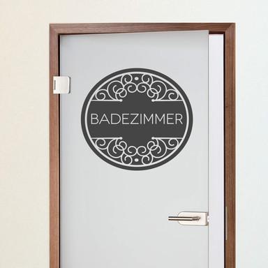 Wandtattoo Badezimmer 03 - Bild 1
