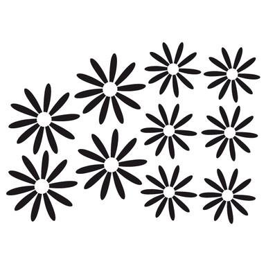 Wandtattoo Blüten-Set 15