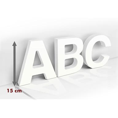Dekobuchstaben 15 cm Buchstabenhöhe