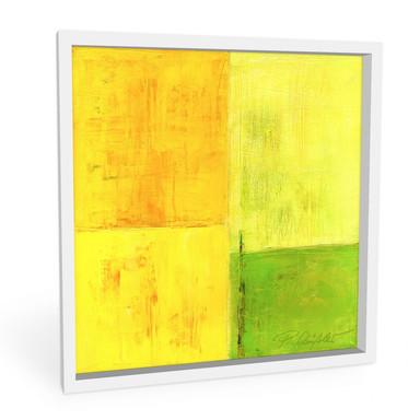 Hartschaumbild Schüssler - Spring Composition II