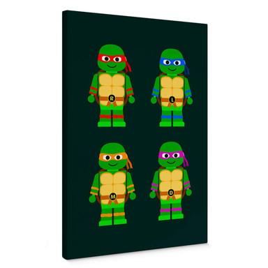 Leinwandbild Gomes - Teenage Mutant Ninja Turtles Spielzeug