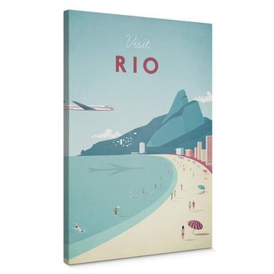 Leinwandbild Rivers - Rio de Janeiro