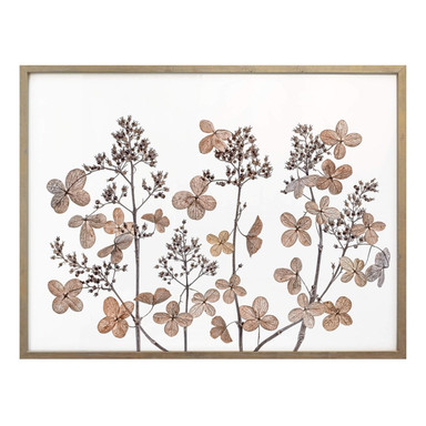 Poster Disher - Getrocknete Blumen
