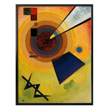 Poster Kandinsky - Grün und Rot