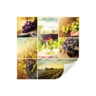 Poster Weincollage