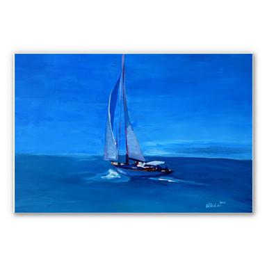 Wandbild Bleichner - Sailing into the Blue