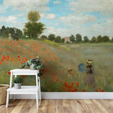 Fototapete Monet - Mohnfeld bei Argenteuil - 336x260cm