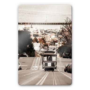 Glasbild Cable Cars