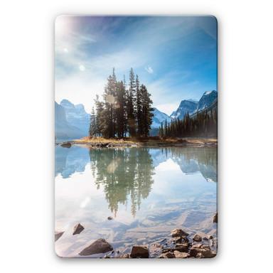 Glasbild Colombo - Jasper-Nationalpark in Kanada
