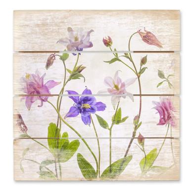 Holzbild Disher - Das Bouquet