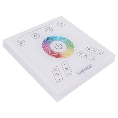 Kapego RF Touchpanel in Weiss RGBW