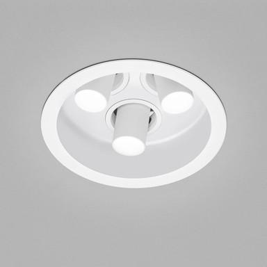 LED Deckeneinbauleuchte Run in Weiss 3x 8W 885lm