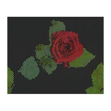 Mustertapeten Lars Contzen Tapete Rendez-vous Roses Schwarz, Grün, Rot
