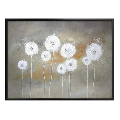 Poster Melz - Weisse Pusteblumen