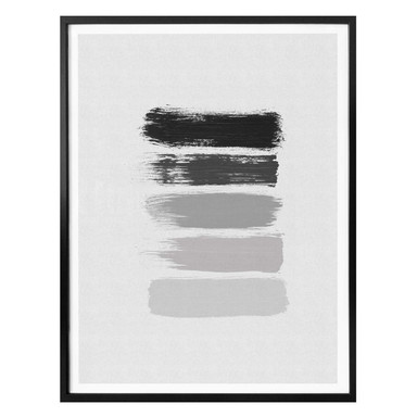 Poster Orara Studio - Black and White Stripes